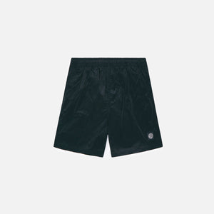 Stone Island Nylon Metal Garment Dyed Swim Short - Black