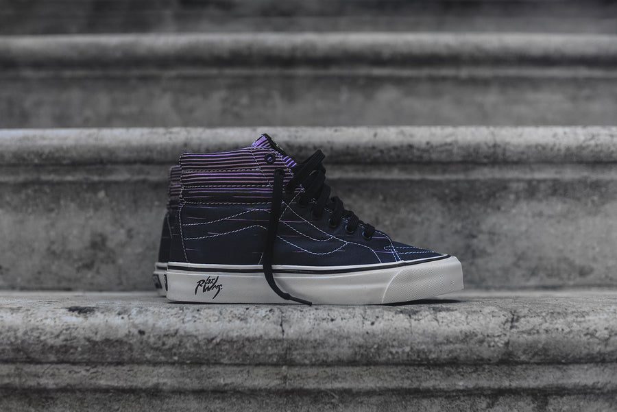Vans Vault x Robert Williams Sk8Hi 38 Decon LX - Flaming Cobras
