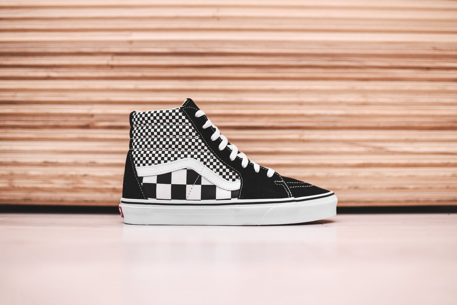 d3b230919ae Vans Sk8-Hi Mix - Black   White – Kith