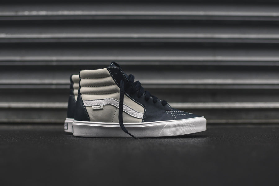 Vans Vault Sk8-Hi Lite LX - Marshmallow / Blue Nights