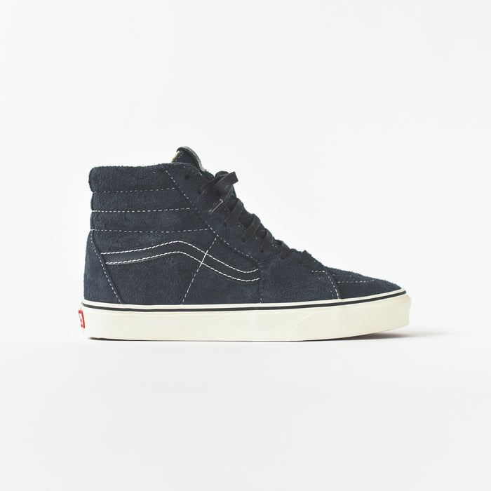 Vans Sk8-Hi Hairy Suede - Sky Captain / Snow White