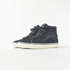 7b500f1b69 Vans Sk8-Hi Hairy Suede - Sky Captain   Snow White