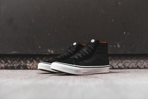 Vans WMNS Sk8-Hi Slim Zip - Black / True White