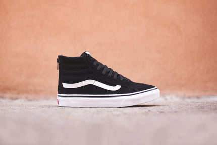 Vans WMNS Sk8-Hi Slim Zip - Black / White