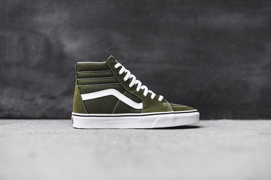 Vans Sk8-Hi - Winter Moss / True White