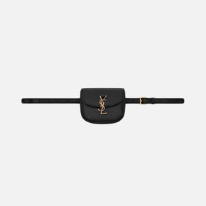 Saint Laurent Kia Leather Hendrix Belt Bag - Black