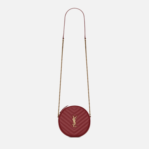 Saint Laurent Round Camera Bag - Red