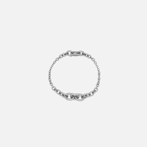 Saint Laurent Gradient Chain Bracelet - Silver