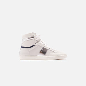 Saint Laurent 10 High Top Sneaker - Blanc Optqiue