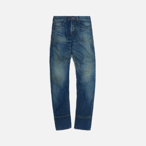 Saint Laurent Slim Fit Dirty Winter - Blue Image 1