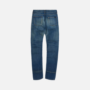 Saint Laurent Slim Fit Dirty Winter - Blue Image 2