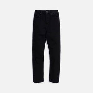 Saint Laurent Straight Jeans High Waist - Black