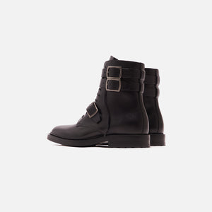 Saint Laurent Army 20 Buckle Boot - Nero