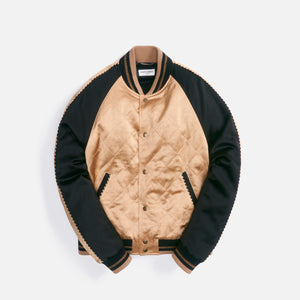 Saint Laurent Teddy Raglan Oppo Dore Noir - Tan / Black