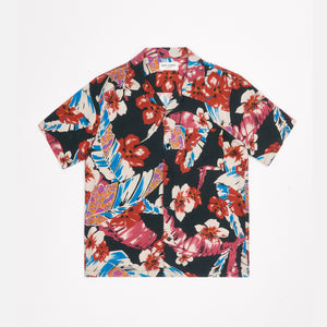 Saint Laurent Hawaii Shirt - Colorful Flower