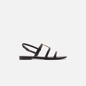 Saint Laurent Cassandra 05 Sandal - Nero