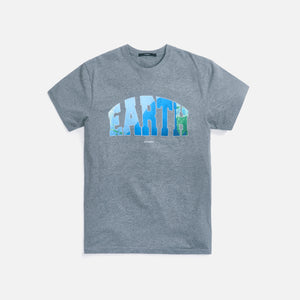 Stampd Earth Ocean Tee - Heather Grey