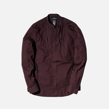 Shadow Project L/S Shirt - Burgundy