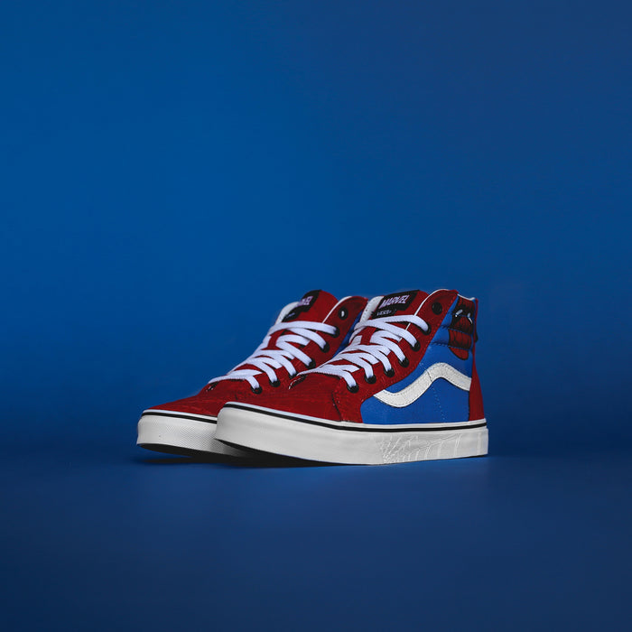 Vans x Marvel Kids Sk8-Hi Zip - Spider-Man