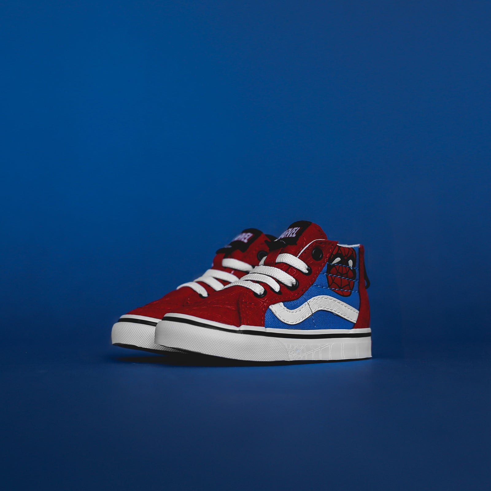 Vans x Marvel Toddler Sk8-Hi Zip - Spider-Man