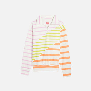 Solid & Striped The Pullover - Colorblock Stripe