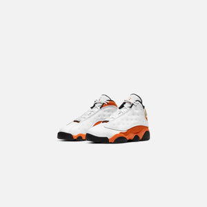 Nike PS Air Jordan 13 Retro - White / Starfish / Black