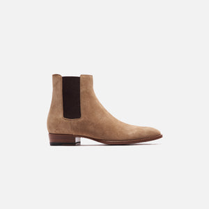 Saint Laurent Mid-heel Chelsea Boot - New Sigaro