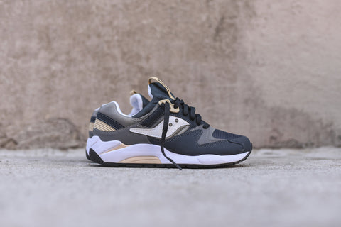 Saucony Grid 9000 - Navy / Tan