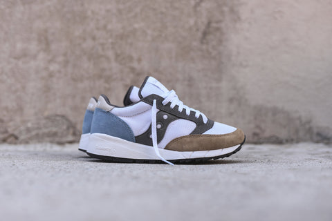 Saucony Jazz 91 - White / Beige / Blue