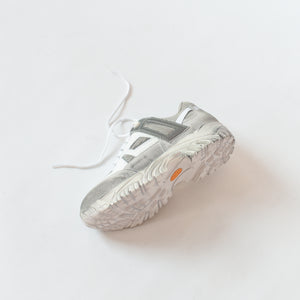Margiela Security Sneaker Suede - White / Grey