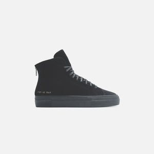 Common Projects WMNS Shearling Pack Tournament High Super - Black Image 1