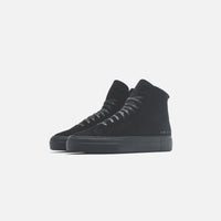 Common Projects WMNS Shearling Pack Tournament High Super - Black Thumbnail 2