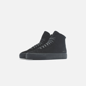 Common Projects WMNS Shearling Pack Tournament High Super - Black Image 2