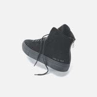 Common Projects WMNS Shearling Pack Tournament High Super - Black Thumbnail 4