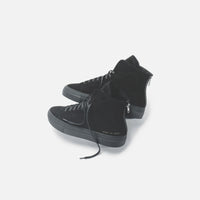Common Projects WMNS Shearling Pack Tournament High Super - Black Thumbnail 5