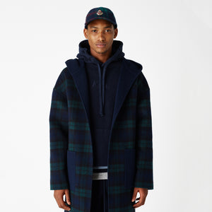 Kith Fagen Hooded Wool Coat - Navy