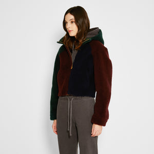 Kith Women x Ugg Shearling Hoodie - Multicolor