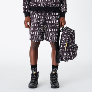 Kith x Versace Nylon Short - Monogram Black