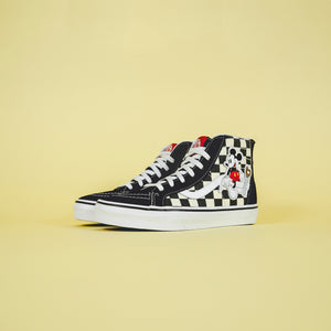 Vans x Mickey Mouse Sk8-HI Zip - Mickey / Checkerboard