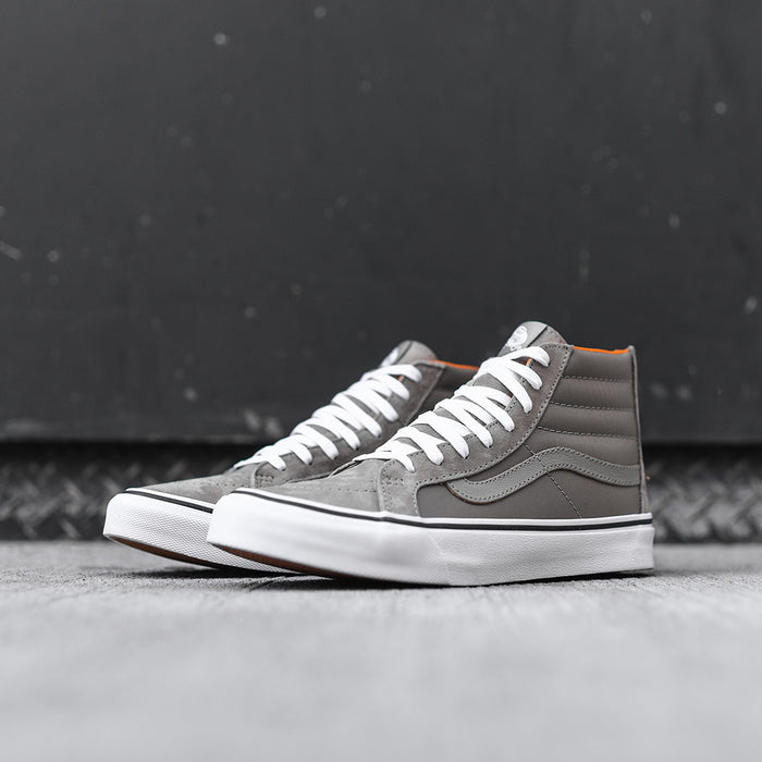 Vans Sk8-Hi Slim Zip - Silver Sage / True White