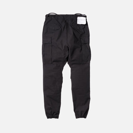 R13 Slim Cargo Pants - Black
