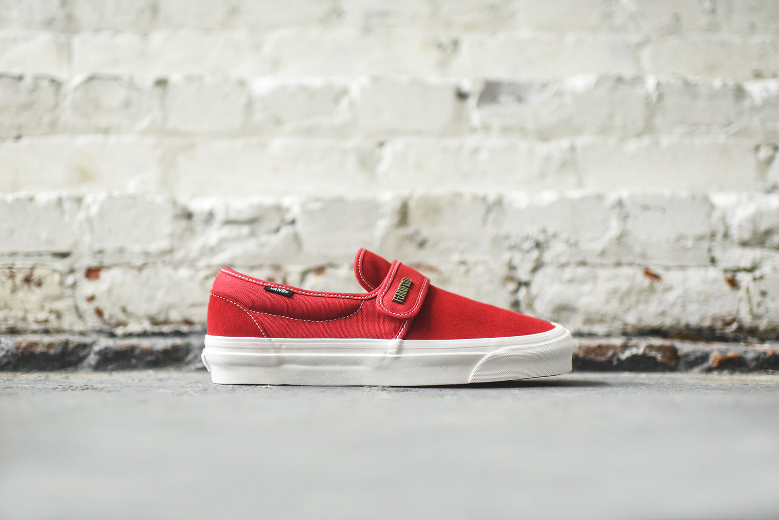 Vans x Fear Of God Slip-On 47 DX - Red