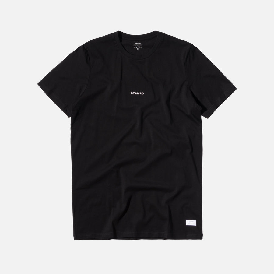 Stampd Stacked Tee - Black