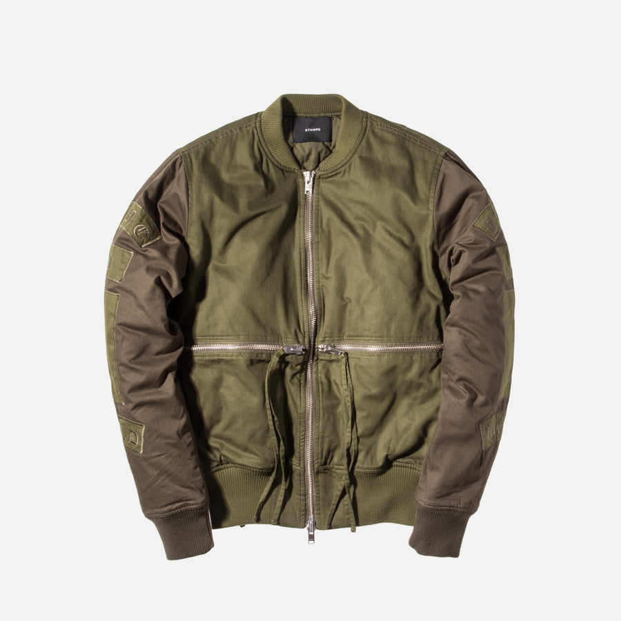 Stampd Time and 1 World Bomber - Sage