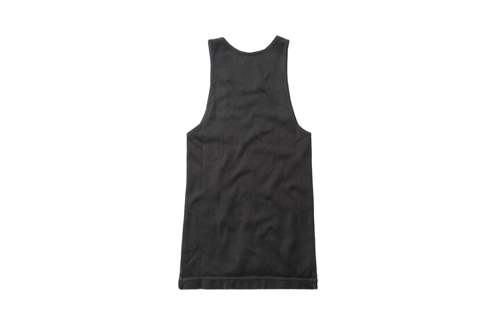 John Elliott Flatback Thermal Mercer Tank - Washed Black