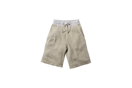 John Elliott Flatback Thermal Shorts - Washed Clay