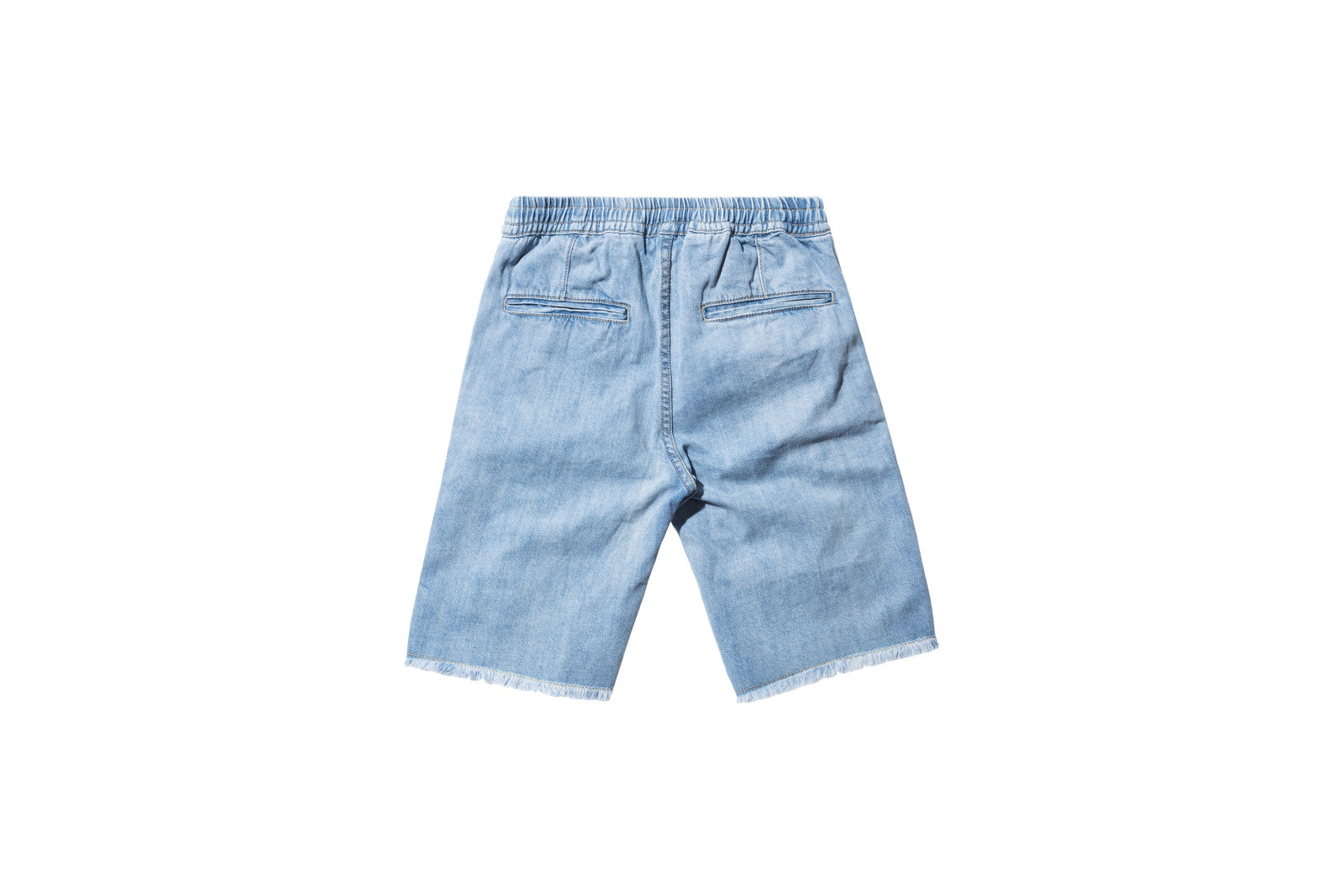 Stampd Distressed Denim Short - Blue
