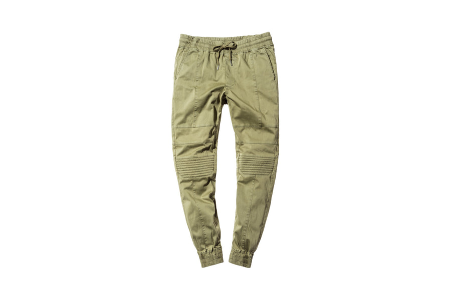 Stampd Moto Chino Pant - Olive