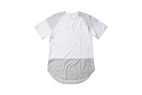 Stampd Building Block Scallop Tee - White