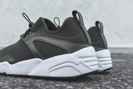 Puma x Stampd Blaze Of Glory - Olive / White